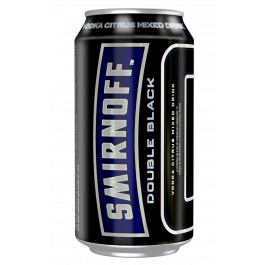 Smirnoff Ice Double Black 6.5% Cans 375ml