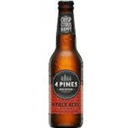 4 Pines Pale Ale Bt 330ml 24pk
