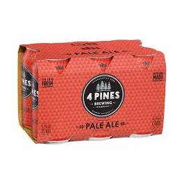 4 Pines Pale Ale Cans 375ml-Pack(6)