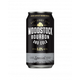 Woodstock Bourbon & Cola 6% Cans 375ml