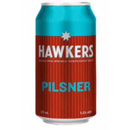 Hawkers Pilsner Can 375ml