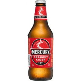 Mercury Draught Cider Bottles 375ml