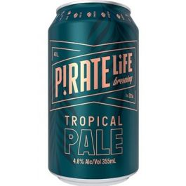 Pirate Life Tropical pale Ale 4.8% Can 335ml