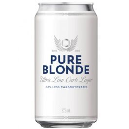 Carlton Pure Blonde Cans 375ml