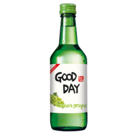 Muhak Good Day Soju Green Grape Bottles 360ml