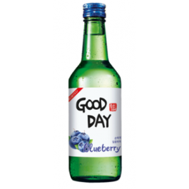 Muhak Good Day Soju Blueberry Bottles 360ml