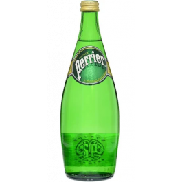 Perrier Natural Mineral Water 750ml