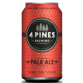 4 Pines Pale Ale Cans 375ml