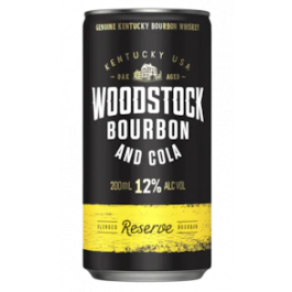 Woodstock Blended & Cola Reserve 12% Cans 200ml