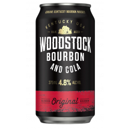 Woodstock Bourbon & Cola 4.8% Cans 375ml (30)