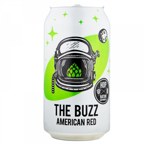 Hop Nation The Buzz American Red Ale 375ml Can-Pack(4)