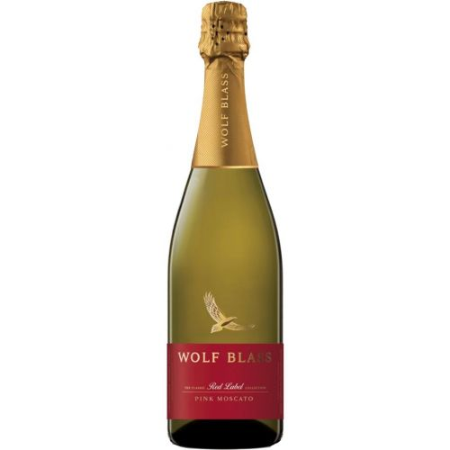 Wolf Blass Red Label Pink Moscato NV 750ml-Each